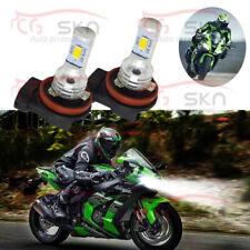 2pc Bright Led Headlight Bulbs for Kawasaki Zx600 Ninja Zx-6R Zx14 2007 to 2012
