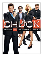 Chuck The Complete Series Collector Set 23 PC DVD
