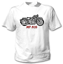 BMW R17 1935 INSPIRED - NEW WHITE COTTON TSHIRT