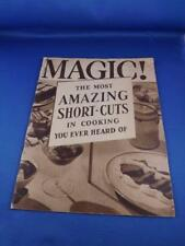 BORDEN'S EAGLE BRAND MAGIC! SHORT CUTS RECIPES SWEETENED CONDENSED MILK