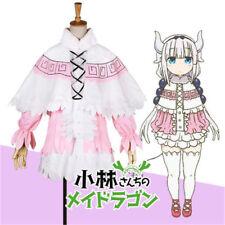 Miss Kobayashi-san Dragon Maid Kanna Kamui Cosplay Dress Anime Dress Cute Skirt