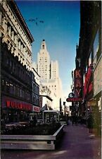 Providence Rhode Island~Westminster Mall~Kay Jewelers~Woolworth's 1960s