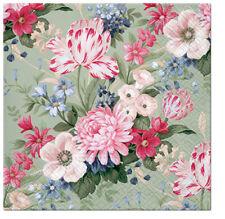 20 Servilletas papel exclusivo Aroma Secret Garden Decoupage 33x33cm SDLA 055500