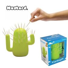 CACTOOPH BY MUSTARD: TOOTHPICK HOLDER: THE PRICKLY PARTY HELPER!