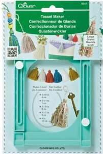 Clover Tassel Maker LARGE DIY - Easy to Make 5 sizes of Tassels 6cm -10cm