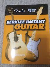 Berklee Instant Guitar Fender, Book+CD