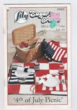 Fourth of July Crochet Patterns Lily Sugar 'n Cream Mix 'n Match Series Vol. 3