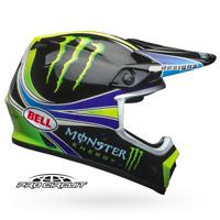 NEW 2019 Bell MX9 Mips Monster Energy Pro Circuit Replica XL MX Helmet Motocross