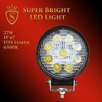 27W LED Arbeitsscheinwerfer Offroad Scheinwerfer 12V 24V für Jeep SUV Bagger