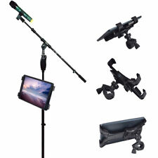 Adjustable Music Microphone Bike Stand Mount Holder Clamp For 7-10