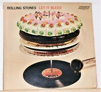 The Rolling Stones - Let It Bleed - 1969 Vinyl LP Record Album - London NPS-4