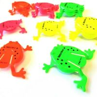 12 x JUMPING FROGS TOY TIDDLYWINK BOYS GIRLS FAVORS BIRTHDAY PARTY BAG FILLERS