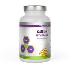 Vita2You Omega 3 - 1000mg mit EPA & DHA - 180 Softgel Kapseln - Fischöl
