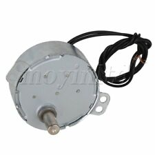 AC 220 V 5-6 RPM Non-Directional Synchronous Motor Silver