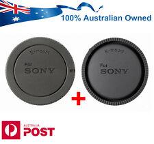 HQ Compatible Rear Body Lens Caps for Sony FE E Mount Lenses NEX ALC-R1EM B1EM