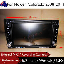 "6.2"" Double DIN Navigation Car DVD GPS Stereo For Holden Colorado 2008-2012 RC"