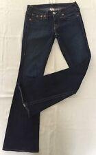 True Religion Dark Wash JOEY Women's Jeans Size 27 Flare 27x33