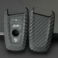BMW Silicone fob Key Case Cover Carbon Fibre F10 F20 F30 F40,  3 Buttons