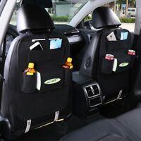 tissé multifonction siège arrière sac sachet auto - organisateur multi - poche