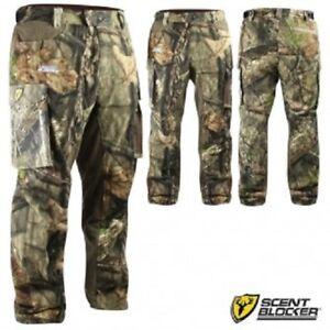 Scent Blocker Protec Camo Hunting Pants, MOC, Assorted Sizes, MSRP $169