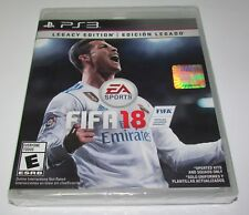 FIFA 18: Legacy Edition for Playstation 3 PS3 Brand New! Factory Sealed!