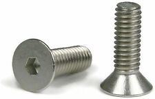 "Flat Head Socket Cap Screw 18-8 Stainless Steel 1/4-20 x 3/4"" Qty 100"