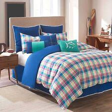 NIP Southern Tide Prep School Paid Twin Comforter Bedskirt & Shams 3pc