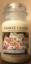 Yankee Candle CREAM COLORED PONIES 22 Oz Jar My Favorite Things Collection