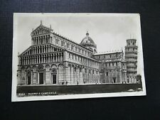 THE DUOMO VIEWED PALAZZO VECCHIO FLORENCE TUSCANY ITALY 1897 OLD BW PRINT 737BWB