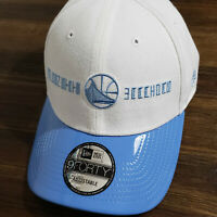 NWT New Era Golden State Warriors Hook 9FORTY Adjustable Leather Hat