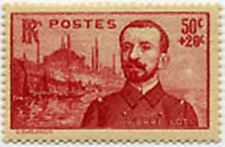 """FRANCE STAMP TIMBRE 353 """" FOND D'ERECTION A PIERRE LOTI 50 C+ 20 C """" NEUF x TB"""