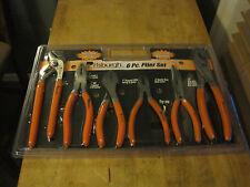 Pittsburgh Tool 6 Piece Plier Set