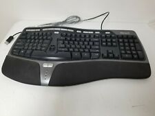 New listing Genuine Microsoft 4000 v1.0 108-Key Wired Usb Natural Ergonomic Keyboard Ku-0462