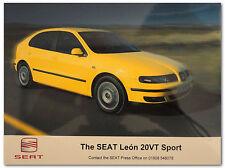 SEAT Leon 20VT Sport Press Release Photograph