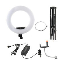 18'' 48W Beauty Selfie Lamp FS-480II Bicolor LED Ring Light Kit For Makeup/Video
