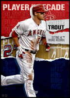 Mike Trout 2020 Topps Player of the Decade 5x7 Gold #MT-5 /10 Angels