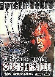 Escape From Sobibor DVD Rutger Hauer Movie - 1987 True Story Concentration War