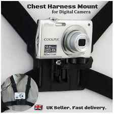 Use Your Digital Camera as Action Cam Body Strap Chest Harness Mount Holder
