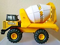 TONKA Turbo Diesel Cement Mixer Truck Pressed Steel Construction Crank