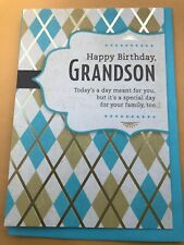 Hallmark Happy Birthday To Grandson Greeting Card Great Price