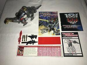 1984 Hasbro Transformers Generation 1 (G1) Dinobots Sludge - 100% Complete