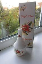 Royal Albert Poinsettia Bud Vase 13 cm Boxed Bone China 1st Quality Christmas