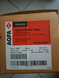 Agfa Recording HNm Red Sensitive Film 35,5 cm x 60 m