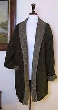 Boyne Valley Weavers Chenille Jacket w/ Celtic Trim sz L Large NWT Sold Out QVC