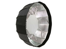 Jinbei Φ105cm Umbrella Folding Beauty Dish Softbox Black/Silver Bowens Mount