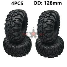 """OFF-ROAD 2.2"""" Tire ROCK Tyre 128mm (4) For RC ROCK AXIAL WRAITH JEEP TRX4 SCX10"""