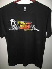 Tony Hawk Shred Video Computer Game Skateboard Skater Big Air Thin T Shirt XLrg