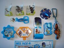 ICE AGE 4 2011 KINDER SURPRISE TOYS SET - FIGURINES COLLECTIBLES MINIATURES