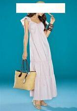 langes APART Maxikleid Kleid Sommerkleid in Kurz-Gr.17  Gr.34 NEU creme