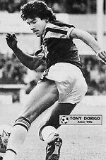Football Photo>TONY DORIGO Aston Villa 1980s